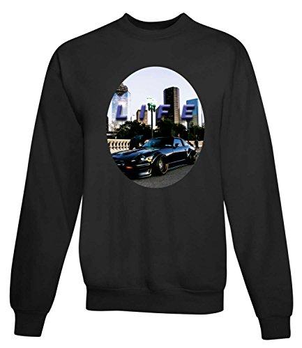 Billion Group | It's Life | Women's Unisex Sweatshirt Noir