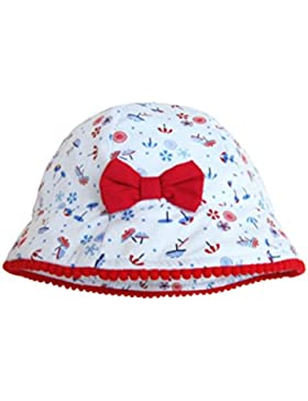 Sumolux Gorra Sombrero Algodón Anti UV Solar para Viaje Playa para Bebé Niña