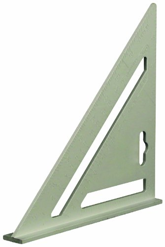 Silverline 734110 Equerre en aluminium robuste 185 mm