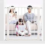 JIMI-I Kindersicherheitstor, Baby-Leitplanke, Treppengeländer, Zaun für Haustiere, Türzaun, Baby-Isolationstür, Spezialtür mit quadratischer Wand (größe : 117-124cm)