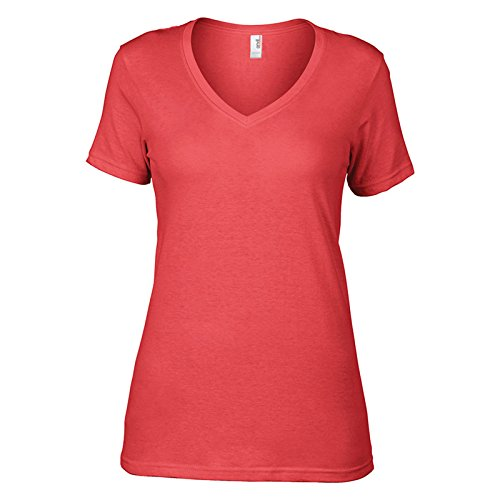 Anvil -  T-shirt - Donna Coral
