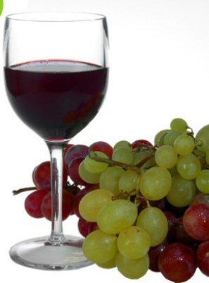 Avenue's, 6 Stück, bruchsicher, wiederverwendbar, aus Polycarbonat, Weinkelche, 250 ml/22 oz bis...