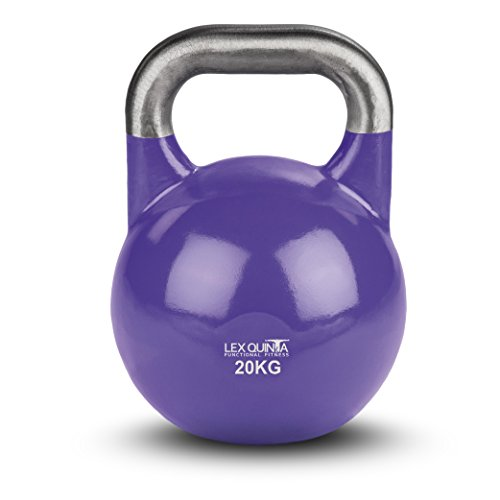 Lex Quinta Competition Kettlebell - die Wettkampf Kugelhantel - 20kg violett