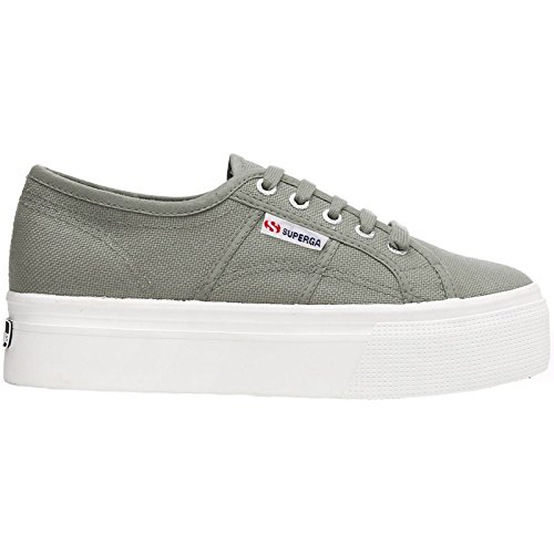 Superga 2790-Acotw Linea UP and Down, Zapatillas para Mujer, Grau (Grey Sage), 37.5 EU