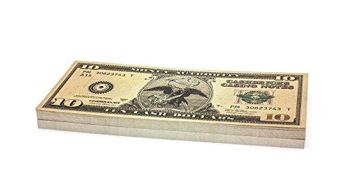 100 x $10 DOLLAR Cashbricks® Spielgeld (Kostüme 10 Dollar)