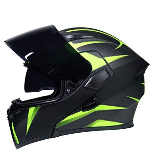Casco moto modulare doppio visiere uomini flip up Racing caschi ad alte prestazioni professionali donne caschi Outdoor Motocross Casch