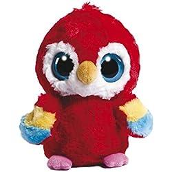 YooHoo and Friends 12983 - Loro de Peluche (13 cm), Color Rojo