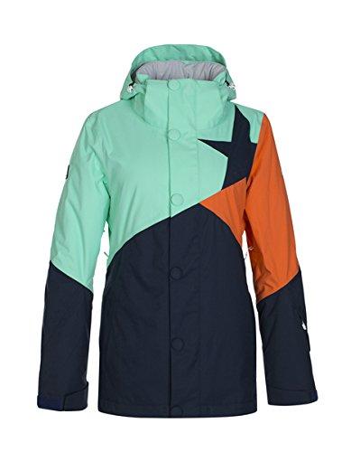 Zimtstern Giacca da sci da Zarin, Donna, Snow Jacket Zarin, Sea Glass, S