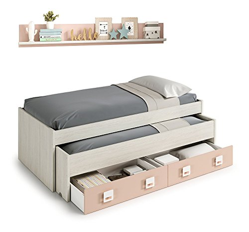 Habitdesign 0M7449Y - Cama Doble + 2