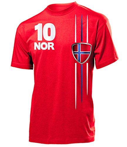 FUSSBALL - NORWEGEN FANSHIRT 3336(H-R) Gr. XXL (Norwegen Fußball Trikot)