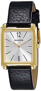 Sonata Analog Silver Dial Men's Watch (7053YL07)