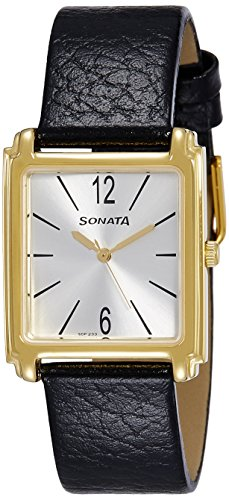 41TZtkOO0xL - Sonata 7053YL07 Silver Mens watch