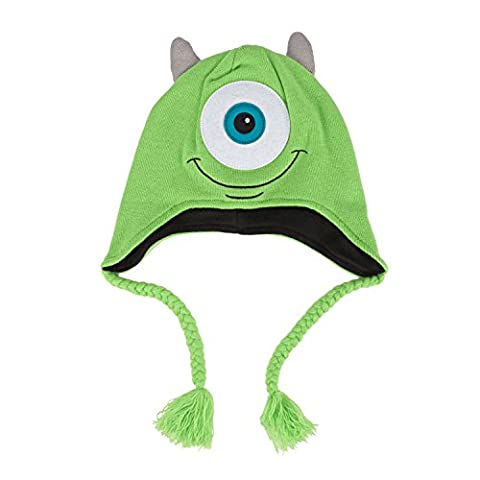 Monster University Mike Face Youth Knit Laplander Beanie Hat