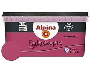 alpina farbe tim m lzer farbrezepte 1 l wilde beere baumarkt. Black Bedroom Furniture Sets. Home Design Ideas