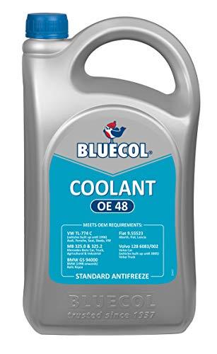 Bluecol BAF005 OE48 Concentré pour réfrigérateur Bleu/vert 5 litres