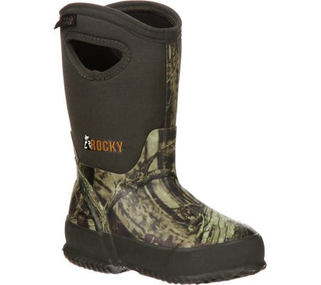 Rocky Youth MO Core Rubber WP Insulated Pull-On Boots -2 M, RKYS064
