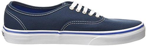 Vans Authentic, Baskets Basses Mixte Adulte Bleu (midnight navy/true white)