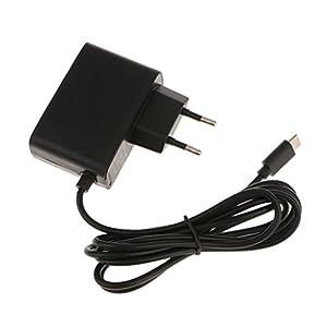 1 Stück 5V 2.4A 12W Ersatz Netzteil adapter, Ladeeinheit für Nintendo Switch – Schwarz