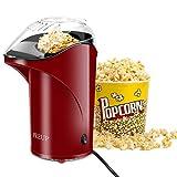 Macchina per Popcorn Veloce ad Aria Calda,OCDAY Macchina per Popcorn Senza Grasso Elettriche, Design a Bocca Larga,con Misurino e Coperchio Superiore Rimovibile,Sano, Senza BPA