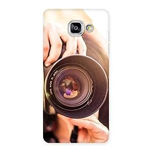 Stylish Premier Camera Multicolor Back Case Cover for Galaxy A5 2016