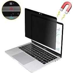 """Yoght Filtre magnétique Anti-Espion et Anti-Reflets avec Coque pour Webcam Compatible MacBook Pro 15"""" 2016/2017/2018 Version : A1707/A1990"""