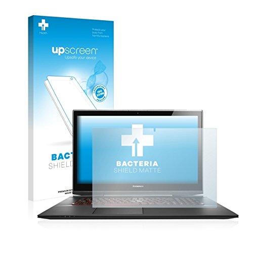 upscreen Bacteria Shield Matte Bildschirmschutz Schutzfolie für Lenovo Y70-70 Touch (antibakterieller Schutz, matt - entspiegelt)