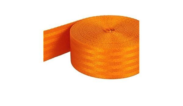 bis 1,5t belastbar 5m Sicherheitsgurtband beige aus Polyamid 38mm breit