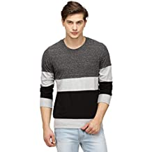 Campus Sutra Men's Cotton Full Sleeve T-Shirt