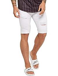 d50373d6b0 Good For Nothing Shorts Skinny Destroyed Denim - White