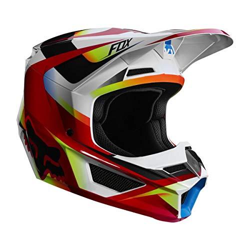 Fox Helmet V-1 Motif Red/White Xl