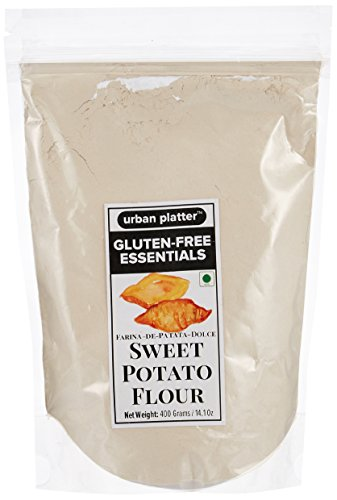 Urban Platter Sweet Potato Flour, 400g [Gluten-Free, Low-Calorie, Paleo Friendly]  available at amazon for Rs.380
