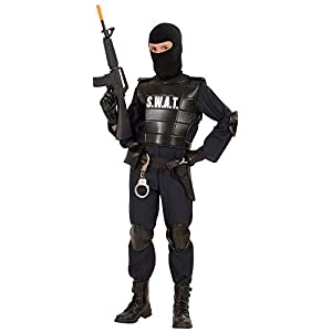 WIDMANN S.W.A.T. - Disfraz de oficial SWAT para niño, talla 13 años (55348)