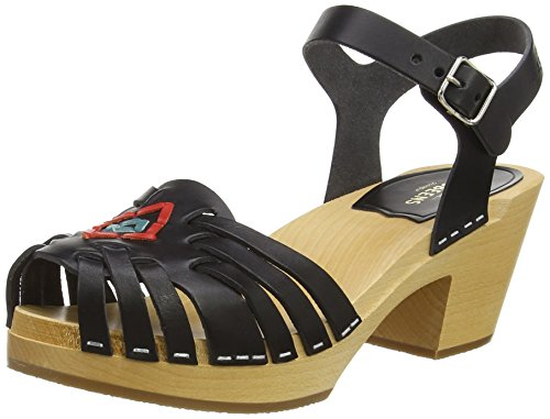 Swedish HasbeensHuarache - Sandali donna , Nero (Black (Black Nature)), 41