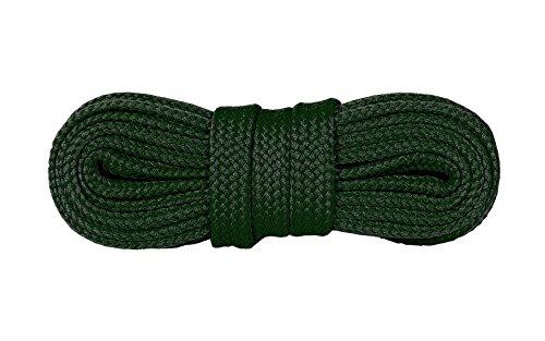 Kaps Sneakers Schnürsenkel, Hochwertige strapazierfähige Schnürsenkel für Freizeitschuhe, Hergestellt in Europa, 1 Paar, Viele Farben und Längen (120 cm - 7 to 9 Ösenpaar - Black)