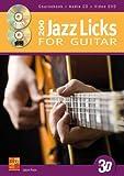 Jason Ross: 200 Jazz Licks for Guitar in 3D (Book/CD/DVD) +DVD -