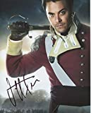 Jack Huston Signed Pride and Prejudice and Zombies 8x10 Color Photo W COA pj