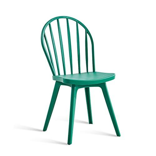 Barhocker Haushalts Windsor Stühle, Kunststoff Esszimmerstuhl Moderner Minimalistischer Frühstückshocker Rückenlehnenstuhl Für Erwachsene Creative Fashion Barhocker Weiß Schwarz,für Küche, Restaurant, - Kunststoff-stuhl Moderner