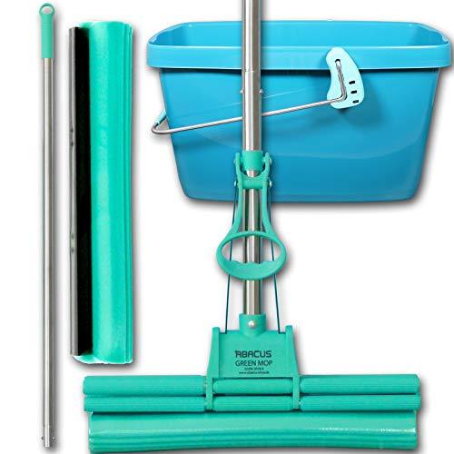 4a79db50830e50 Abacus Green Mop Lot de 40–02 – -- Green Mop 40 cm +