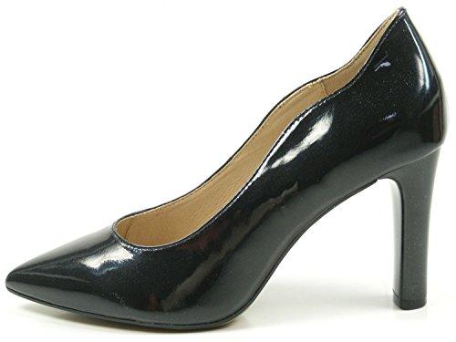 Caprice 22402, Scarpe con Tacco Donna Nero (Black Patent 18)