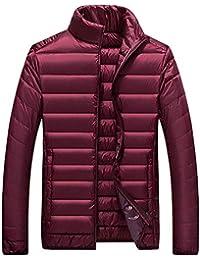 Rosso Uomo Amazon Giacca Collo Coreana it Abbigliamento xHXH7qR8Iw