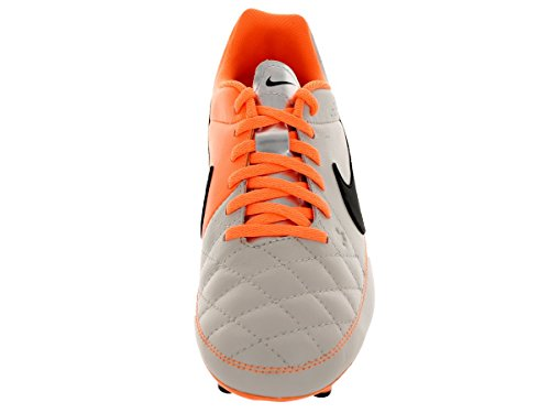 Genio Tiempo Nike Nike Grau Unisex Leather Fu脽ballschuhe FG Tiempo Kinder Eqqtwrx5H