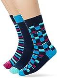 Original Penguin Herren Socken MSHPE762STM, (Snorkel Blue), One Size