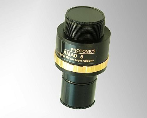 Mikroskop-Adapter 0,75 x fokusierbar Mikroskopadapter Mikroskopkamera okular