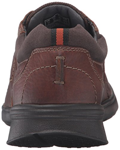 Clarks Mens Cotrell Walk Oxford Tobacco