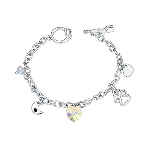 aooaz-placcato-in-oro-bianco-braccialetto-per-le-donnematrimonio-bracciale-a-maglies-cz-zirconia-cub