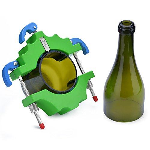Glasflaschenschneider Set Flasche Fräser FIXM Metall Schneidwerkzeug 4 Stück Sandpapier 2 Stück Trennbänder Mit Hartmetall Schneidrad Bottle Cutter Glasflaschenschneider Für DIY Wiederverwendung