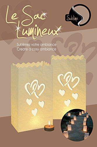 Sacs Lumineux GM x 8 Design ENSEMBLE
