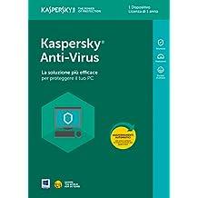 Kaspersky Anti-Virus 2018 1 Utente | 1 Anno
