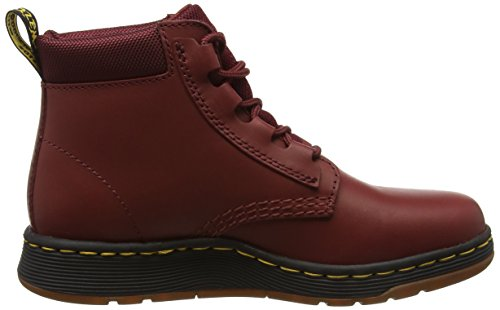 Dr. Martens Telkes Cherry Red Temperley + Espace Sportif, Stivali Donna Rosso (rouge Cerise)