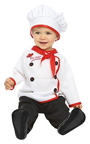 Imagen de my other me  disfraz de bebé cocinero, 1 2 años viving costumes 204970